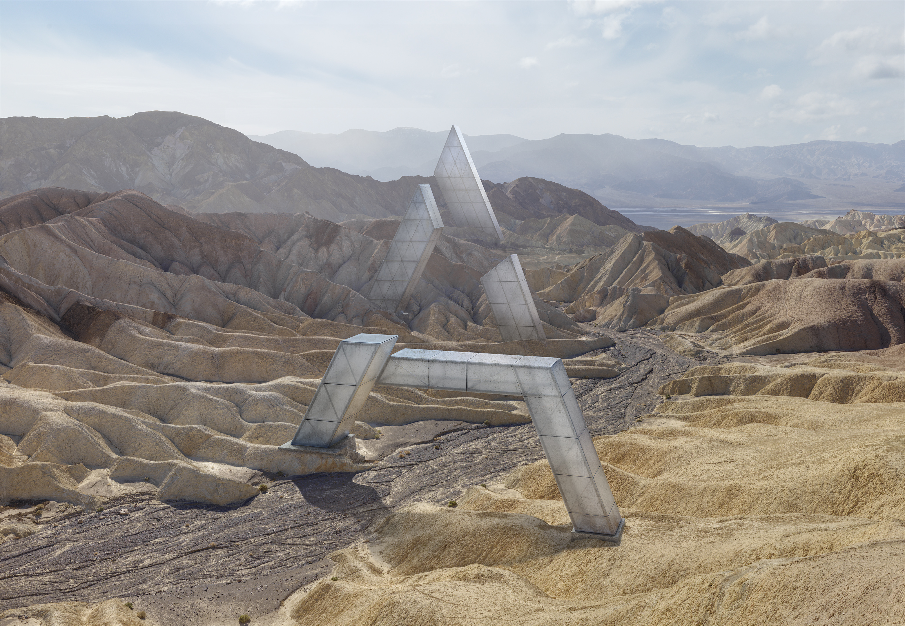 CGI - LetterA, Death Valley