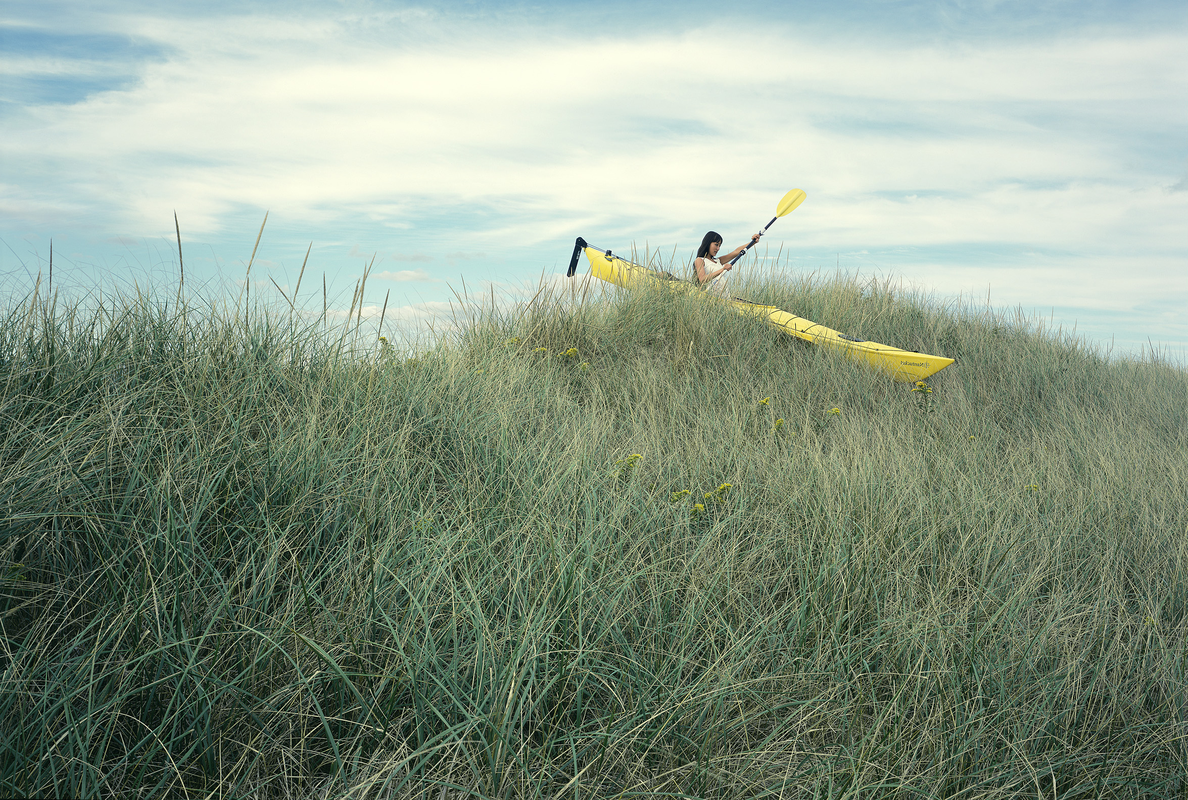 Nantucket 3 - Kayak on Grass